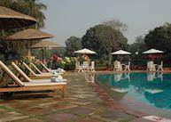 Pool at The Gateway Hotel, Varanasi