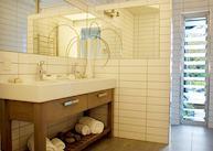 Ensuite bathroom, Acacia Cliffs Lodge, Taupo