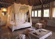 Double lanai room at the Wapa Di Ume, Ubud