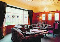 Sitting room, Fletcher Lodge, Dunedin