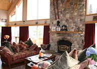 Lounge at Ambleside Lodge B&B, Canmore