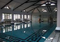 Indoor heated swimming pool at The Cecil, Shimla