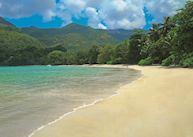 The beach at Constance Ephelia Resort