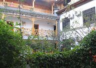 Courtyard at the Lan Ling Ge Hotel, Dali