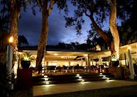 Restaurant at night, The Reef House Boutique Resort & Spa, Palm Cove