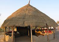 Lounge area, Wilderness Camp, Rohet