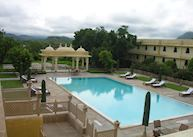 Swimming pool at Trident, Udaipur