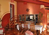 Dining area at Couleur Cafe, Antsirabe