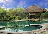 Main pool, Taman Sari Cottages, Pemuteran