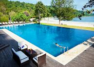 Pool at Bunga Raya Island Resort