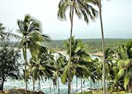 View of Leela Beach from The Leela, Kovalam