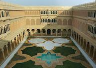 Inner courtyard at Suryagarh, Jaisalmer