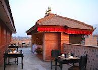 Terrace at Heritage Hotel, Bhaktapur