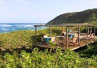 Deck at Thonga Beach Lodge