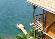 Room overlooking the lake, Cormoran Lodge, Kibuye