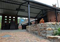 Brickyard Inn Courtyard Communal Area