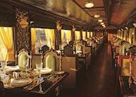 Mayur Mahal Dining Carriage, The Maharajas' Express Train