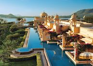 Shared pool of the Premier Lake View Rooms, UdaiVilas, Udaipur