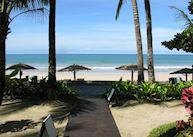 View of Ngapali beach from Sandoway Resort