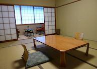 Standard Japanese Room, Kuroyado Iroha ryokan, Miyajima Island