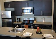 Kitchen at the Lofts at the Five and Dime