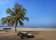 The beach, The Leela