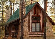 Cabin at Bryce Canyon Lodge, Bryce Canyon National Park