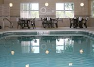 Swimming pool at the Country Inn and  Suites, Ithaca