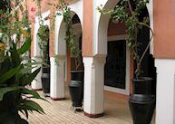 Courtyard, Borjs de la Kasbah