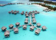 Overwater Bungalows, Le Meridien, Bora Bora