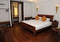 Deluxe room at Areindmar Hotel, Bagan, Burma (Myanmar)