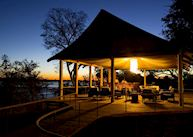 The bar at Toka Leya, Livingstone & The Victoria Falls