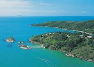 Aerial view, Ponta dos Ganchos