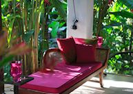 Lounging at Casa Heliconia