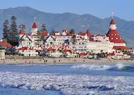 Beach, Hotel del Coronado, San Diego
