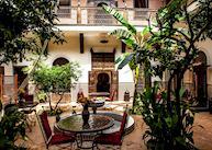 Courtyard at Riad Ilyaka, Marrakesh