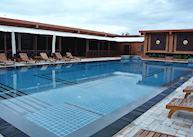 Pool at Bagan Lodge, Bagan
