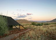 View from a room, Etendeka Camp,Damaraland