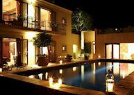 Four Quarters suites pool, Le Quartier Francais, Franschhoek
