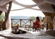 View from your room, Mihingo Lodge, Lake Mburo National Park