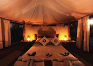 Honeymoon tent, Kanga Bush Camp, Mana Pools
