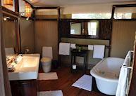 Bathroom, Anabezi Camp, Lower Zambezi National Park
