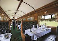 Dining carriage, The Rovos Rail