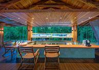 Bar at Cristalino Jungle Lodge