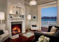 Mansion suite, The Mansion at Casa Madrona, San Francisco
