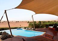 Bedouin Suite pool, Al Maha Desert Resort, Dubai Jumeirah