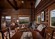 Cabin interior at the Lodge & Spa at Brush Creek Ranch