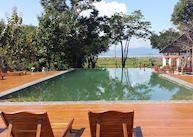Pool at the Villa Inle Resort