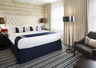 Deluxe king room, Kimpton Hotel George, Washington D.C.