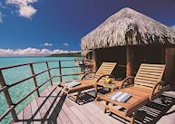 Bora Bora overwater suite, Le Taha`a Private Island and Spa, Taha'a